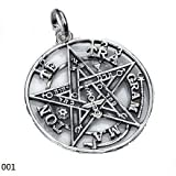 Tetragrammaton de Plata 925mm Grande 3cm