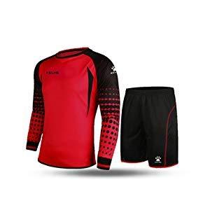 Kelme futbol portero manga larga jersey futbol Set