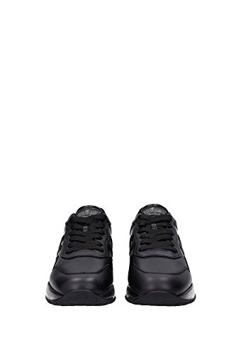 HXM00N0U041DSVB999 Hogan Sneakers Uomo Pelle Nero Nero