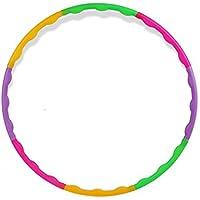 """Lemong Hula Hoop Desmontable para niños 25.6""""Ejercicio niños pequeños Hula Hoop para Deportes & Jugar, S"""
