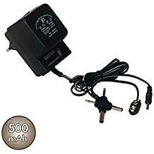 Evila - Alimentador corriente corriente alterna/corriente continua universal 500mah