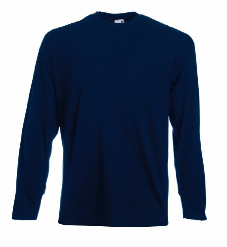 Fruit of the Loom Long-Sleeve T-Shirt in Various Colours and Sizes