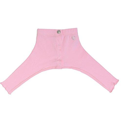 Kiek Hip Wear Gespreiztes Leggingmodell mit Druckknöpfen für Pavlik-Bandage oder Tübinger Schiene, Windel kann gewechselt werden, Größe 50 bis 80 (74-80)