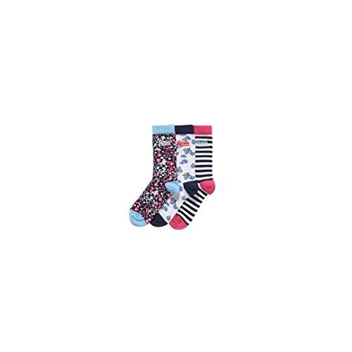Socken Superdry Technical Country flral Sock Pack,, mehrfarbig
