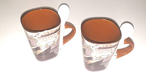 M and R 2X Kaffeebecher Fresh, Kaffeetassen, Teebecher, Teetassen (Sydney)
