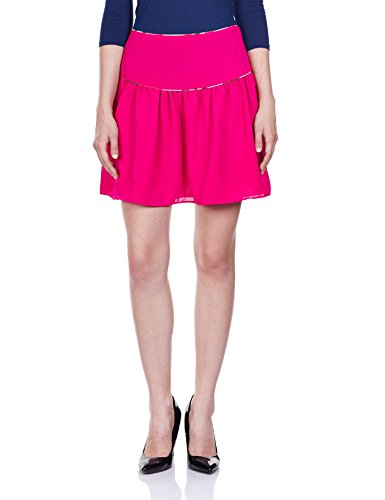 The Vanca Women's Slim Fit Skirt (SKF350019-FUCHSIA-XL)__  available at amazon for Rs.359