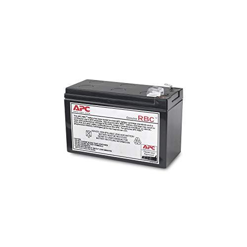 APC APCRBC110 - Ersatzbatterie für Unterbrechungsfreie Notstromversorgung (USV) von APC - passend für Modelle BE550G-GR / BR550GI -