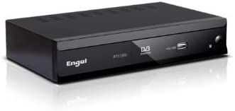 Engel Axil RT5130U - Reproductor/sintonizador (terrestre, DVB, digital, MPEG2, MP3, JPG) color negro