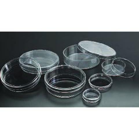 Sterile Petri Dish 55x13 mm, 28 ml, 60x15 mm, 500/CS