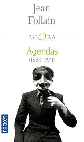 Agendas (1926-1971) par Jean FOLLAIN
