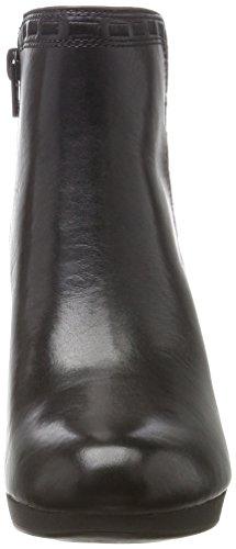 Clarks Adriel Sadie, Stivali Donna Nero (Black Leather)