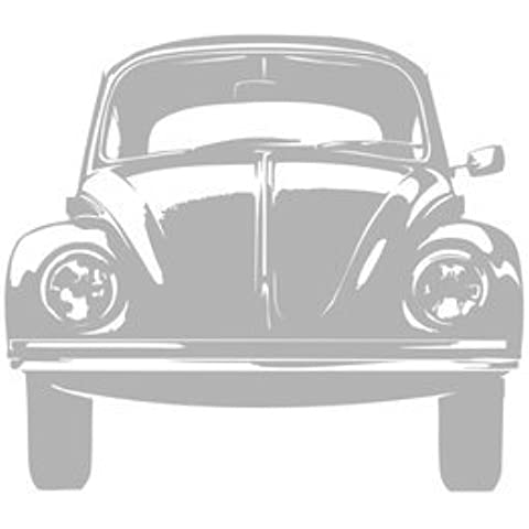 Adesivo auto Coccinella retrò–gravissimo, Specchio, H59 x L59 cm - Coccinella Specchio