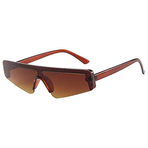 SCEMARK Damen Herren Quadrat Klein Rahmen Sonnenbrille Retro Anti-Blaulicht, UV-Schutz Anti Blaulicht Brille Optics Brillen- Hoher Schutz