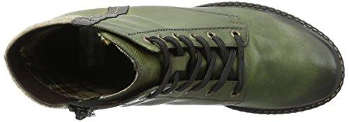 Remonte D4390, Anfibi Donna Verde (Leaf/Antik/Leaf/Wood/52)