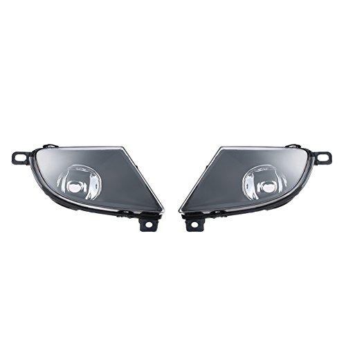 Preisvergleich Produktbild VGEBY 1 Paar Vorne Lampenschirm Vorne Scheinwerfer Links Und Rechts Nebelscheinwerfer Schatten Für BMW 5er E60 2008-2015
