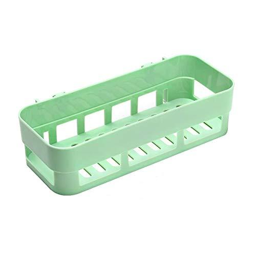 Fairylove Corner Lagerregal Organizer Stick-Typ Wand-Duschablage Kunststoffkorb Bad Shampoo Halter Lagerung Küche Saugnapf kein Bohren - Ecke Wand Lagerung