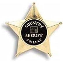 Edison Giocattoli Sheriff's Star Profesiones Juguete individual - Juguetes de rol para niños (Profesiones, Juguete individual, 3 año(s), Niño, Niño, Oro)