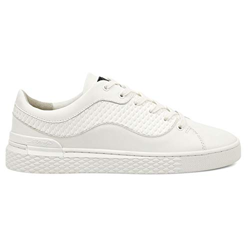 Ed Hardy Scale Low Trainers White-UK 11 -