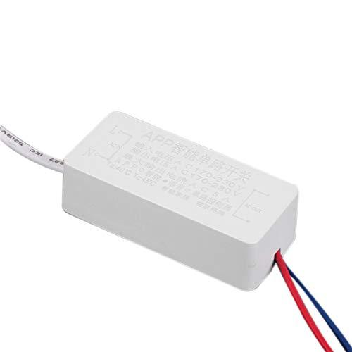 biaobiaoc/AC 170-230 V 5 A Smart Wireless App Bluetooth Fernbedienung an Schalter für LED-Lampe Elektrischer Ventilator und mehr