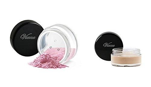 Veana Mineral Line Lidschatten plus Eye Primer fuchsia, 1er Pack (1 x 10 g) -