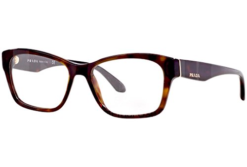 Eyeglasses Prada Voice PR 24RV 2AU1O1 Women Tortoise Cat-eye