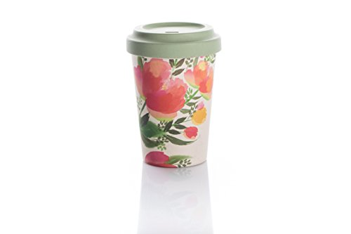 Coffe to go Becher Bamboo Cup (Painted Tulips)