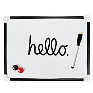 10 Assorted Magnetic White Board Markers Pens, 4 Colors