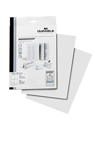 90 pezzi Confezione di ricambio per spillette da 30 mm compatibile con Badge-It Button-Maker e carta A4 per spille