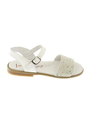 Sandales Andanines Perlitas Blanc Blanc