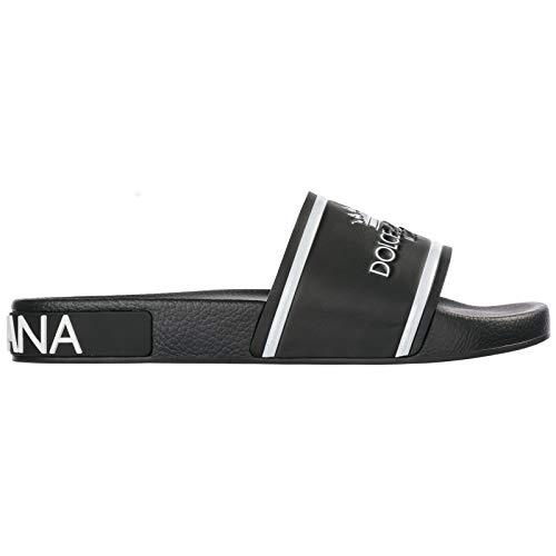 Dolce&Gabbana Herren - Pantoletten Nero 42 EU