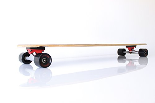Longboard RAM Straight schwarz/rot