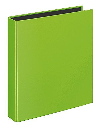 Veloflex 1151341 Ringbuch VELOCOLOR, Ringordner, Ordner, DIN A5, 2-Ring-Mechanik, 200 x 230 x 45, Karton, grün