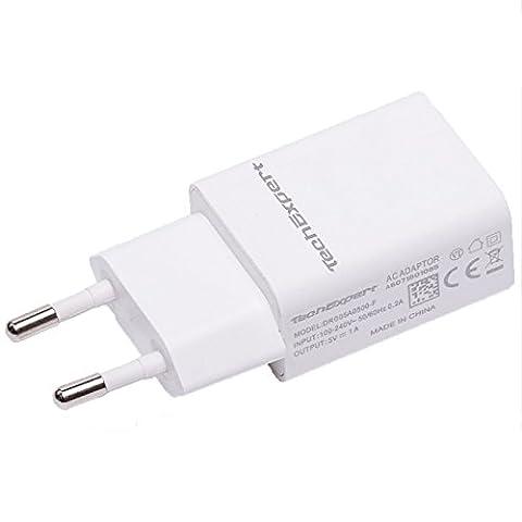 Chargeur secteur vers USB blanc pour iPhone 5 , iphone
