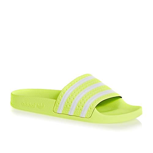 adidas Jungen Adilette Fitnessschuhe Mehrfarbig Ftwbla/Seamhe 0, 38 EU