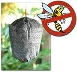 Wespenabwehr ohne Gift - Giftfreie Wespenfalle - Wespenscheuche - Wespen