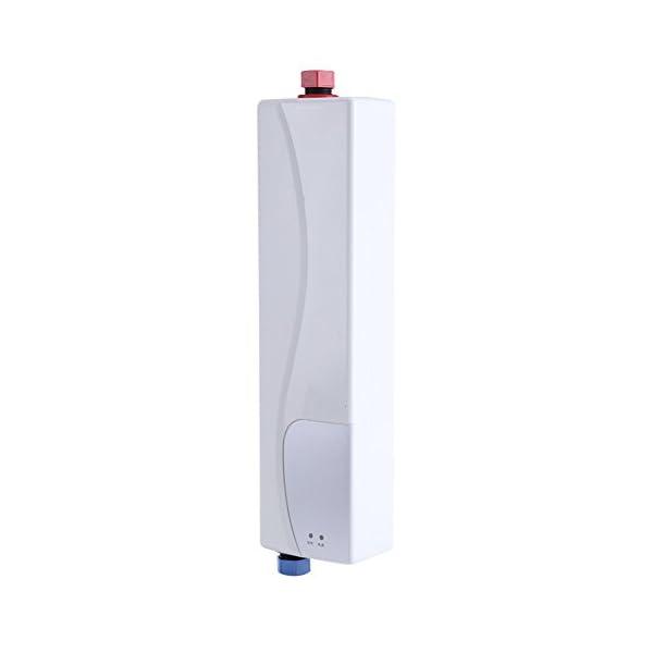 Mini calentador eléctrico instantáneo, 3000 W, calentador de agua eléctrico, portátil, cálido, instantáneo, para cocina…