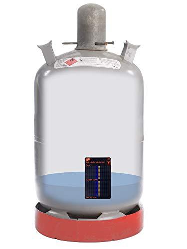 316Ckpj u L - Magnetischer Gasstandsanzeiger Füllstandanzeiger Gas Level Indikator für handelsübliche Gasflaschen Propan Butangas Flaschen auch für Gasgrill oder Gaskocher
