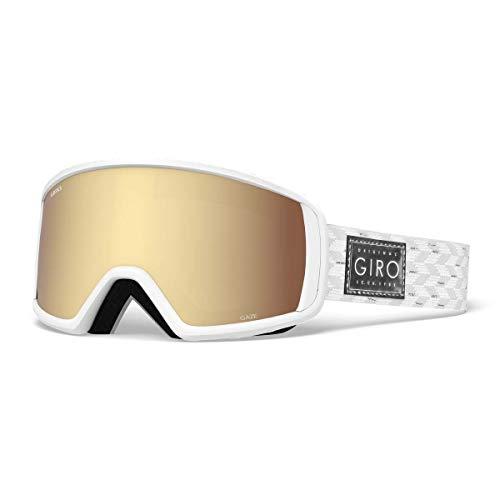 Giro Damen Gaze Skibrille White Silver Shimmer, M