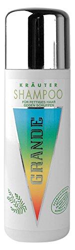 Grande-Kräuter-Cosmetics Kräuter Shampoo für fettiges Haar, 2er Pack, (2x 200 ml)