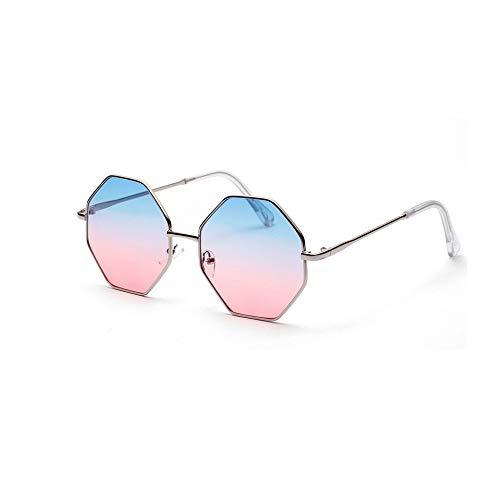 PinkLu GläSer Damen Retro-Stil Paar Modelle Schatten GroßEr Rahmen Diamant Sonnenbrillen Schatten Farbverlauf Mode Wild Urlaub Am Meer Sommer Neuer HeißEr Verkauf 4-Farbige Brille