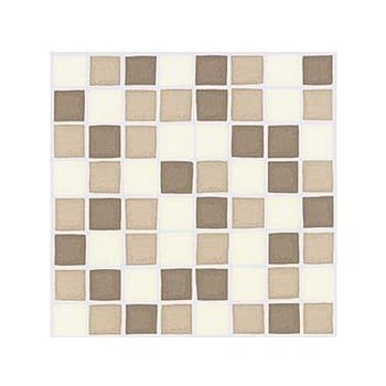 Pack Of 10 Coffee Mosaic Tile Transfers Stickers Coffee