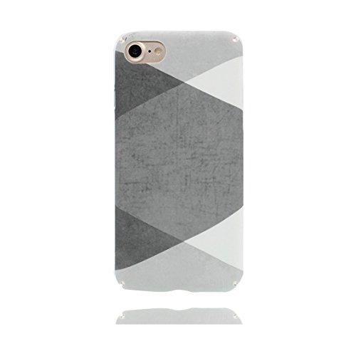 iPhone 7 Plus Custodia, Ultra sottil TPU Case Cover Shell Semplice Progettato per iPhone 7 Plus Copertura (5.5 pollici), prova antipolvere della prova di polvere ( Cartoon Stripe ) color 10