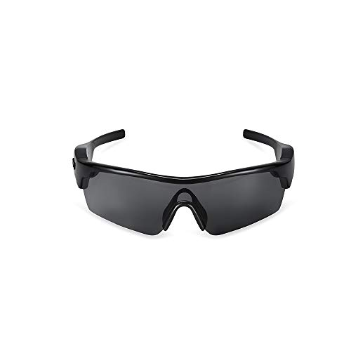 NinJaSun Bluetooth-Brillen-Headset, intelligente Sonnenbrillen mit Sonnenbrillen-Headset für polarisierte Sonnenbrillen,Black