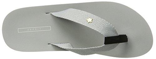 ESPRIT Damen Neva Thongs Zehentrenner Grau (040 Light Grey)