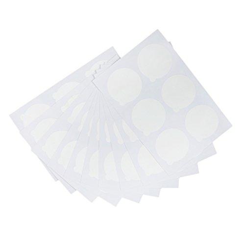 60pcs Outil Cosmétique Adhésif Autocollant Cils Maquillage Pad Colle de Faux Cils