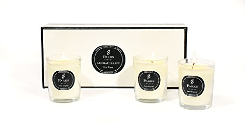 Parks London 3 Kerzen Set; Aroma Parks Original Zitrus Vanille - Zitrus Duftkerze