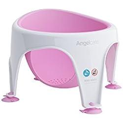 Angelcare - Anneau de Bain pour Bébé - Confort et Sécurité - 6 mois à 18 mois - Rose