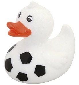 DAM bébés et première infanciajuguetes de bañodamwaterworld : Football Duck L08 X W07 X h08 cm, Plastic, in Display Multicolore (Plus d'une)