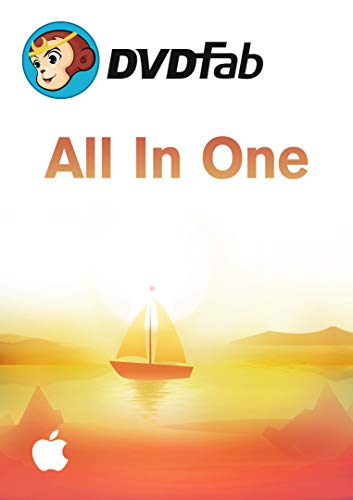 DVDFab All-in-one Suite MAC (Product Keycard ohne Datenträger) (Dvd-ripper-software)