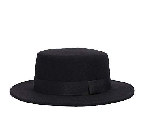 ZUMUii - Sombrero de vestir - para mujer negro Talla única